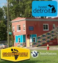 InterNations Detroit: Hostel Detroit Send-Off Event for SHOEBARU