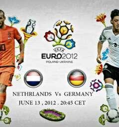 UEFA EURO 2012-  HOLLAND VS GERMANY  @ Holland house Big Screen