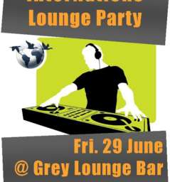 InterNations Lounge Party - Friday June 29th. 2012 @ Grey Lounge Bar - GENEVA
